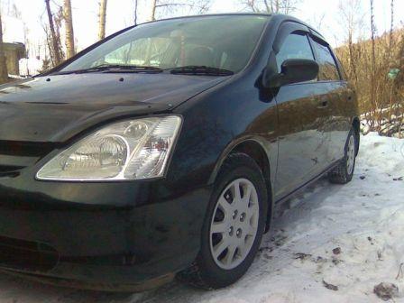 Honda Civic 2001 - отзыв владельца