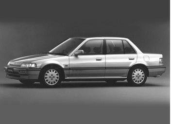 Honda Civic 1989 - отзыв владельца