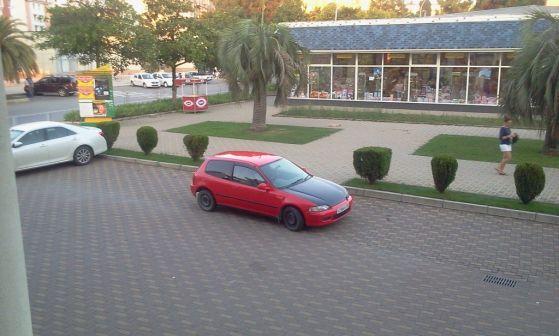 Honda Civic 1992 - отзыв владельца