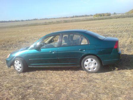 Honda Civic 2002 - отзыв владельца