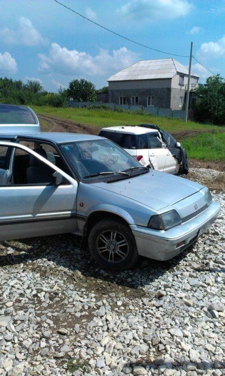 Honda Civic 1987 - отзыв владельца
