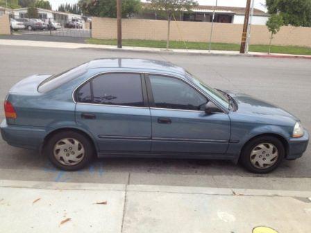 Honda Civic 1997 - отзыв владельца