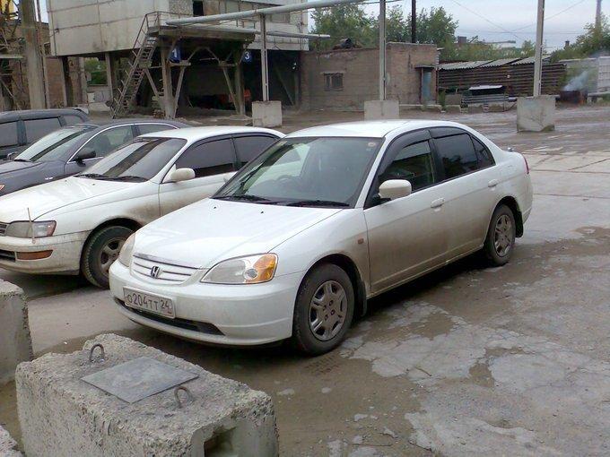 honda civic ferio, 2001 года