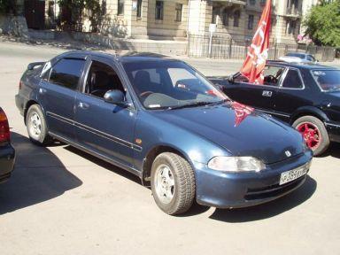 Honda Civic Ferio 1992 отзыв автора | Дата публикации 12.10.2003.