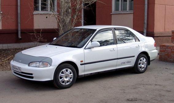 Honda Civic Ferio 1992 - отзыв владельца