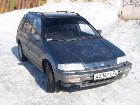 Honda Civic Shuttle 1995 - отзыв владельца