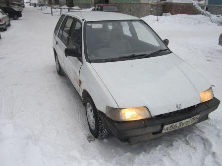Honda Civic Shuttle 1989 - отзыв владельца