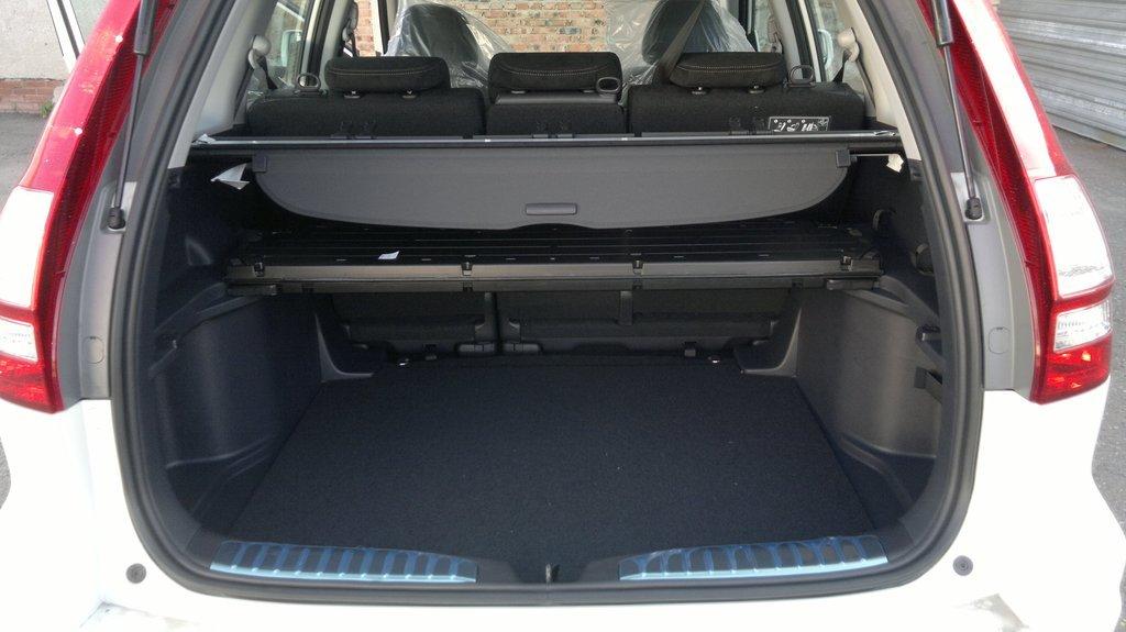хонда срв 2 шторка багажника видео