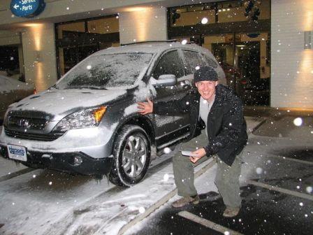Honda CR-V 2007 - отзыв владельца