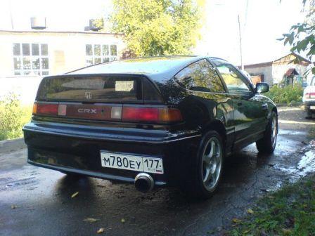 Honda CR-X 1991 - отзыв владельца