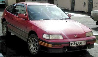 Honda CR-X 1990 - отзыв владельца