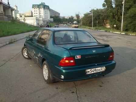 Honda Domani 1993 - отзыв владельца