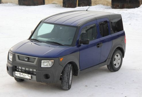 Honda Element 2004 - отзыв владельца