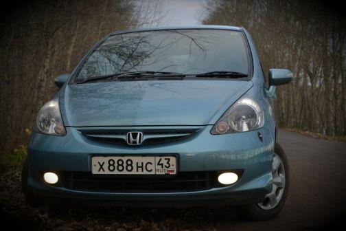 Honda Fit 2006 - отзыв владельца
