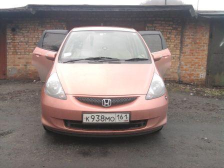 Honda Fit 2004 - отзыв владельца