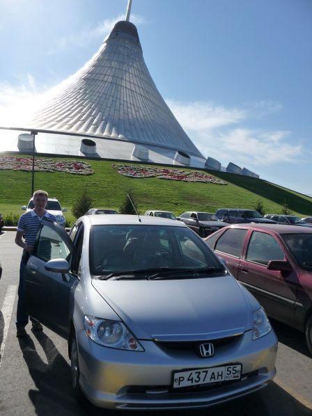 Honda Fit Aria  - отзыв владельца