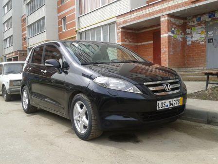 Honda FR-V 2007 - отзыв владельца