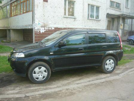 Honda HR-V 2002 - отзыв владельца