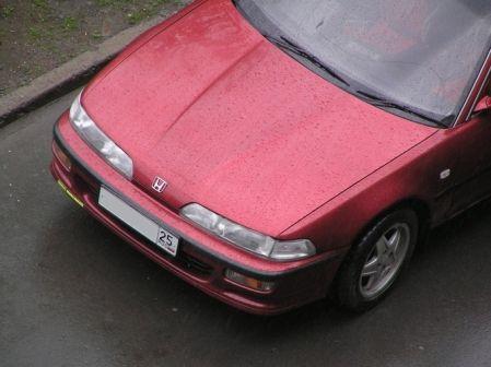 Honda Integra 1990 - отзыв владельца
