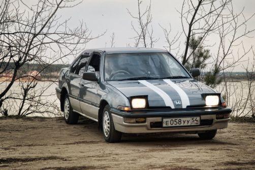 Honda Integra 1988 - отзыв владельца
