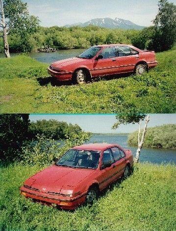 Honda Integra 1987 - отзыв владельца