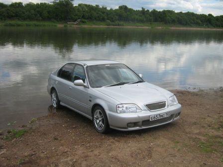 Honda Integra SJ 1996 - отзыв владельца