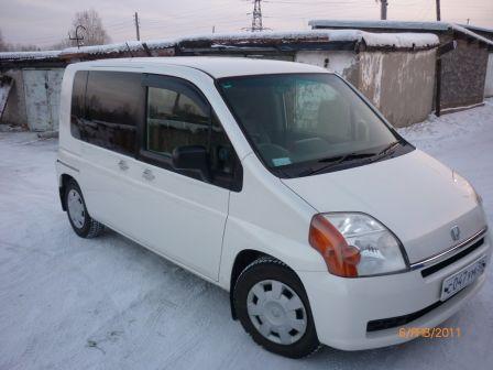 Honda Mobilio 2001 - отзыв владельца