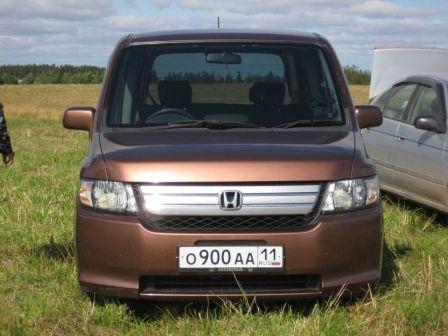 Honda Mobilio Spike 2006 - отзыв владельца