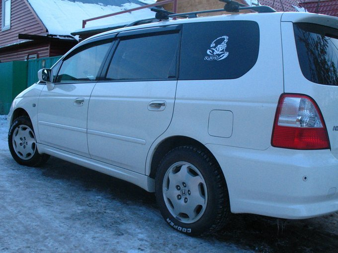 honda odyssey 2000 г в аварийная