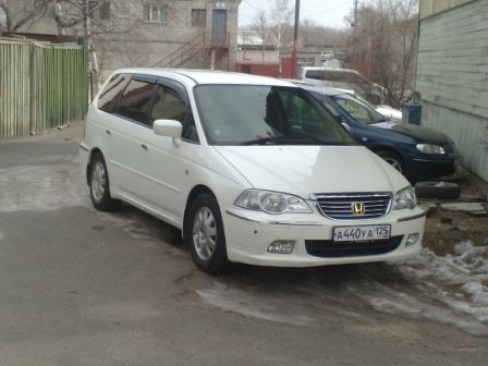 Honda Odyssey 2003 - отзыв владельца
