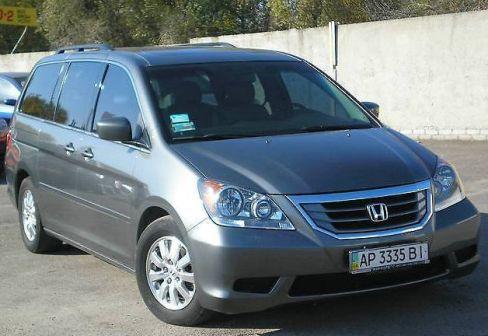 Honda Odyssey 2008 - отзыв владельца