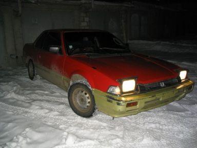 Honda Prelude, 1986