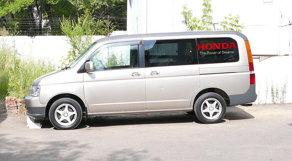 honda step wagon 2001 расход топлива