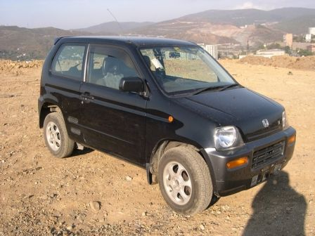Honda Z 1999 - отзыв владельца