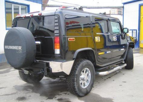 Hummer H2 2003 - отзыв владельца