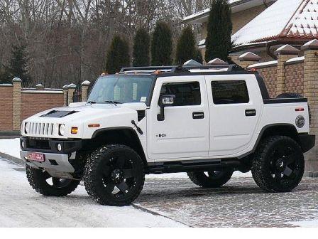 Hummer H2 2008 - отзыв владельца
