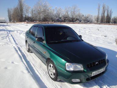 Hyundai Accent, 2001