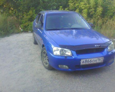Hyundai Accent 2002 - отзыв владельца