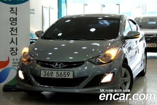 Hyundai Avante 2013 - отзыв владельца