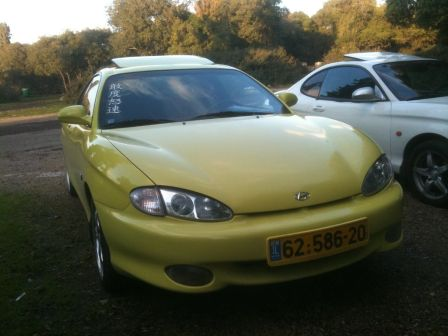 Hyundai Coupe 1998 - отзыв владельца