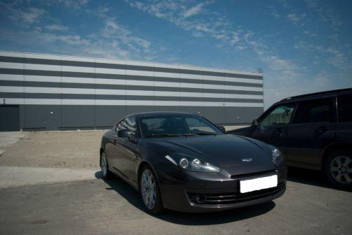 Hyundai Coupe 2007 - отзыв владельца