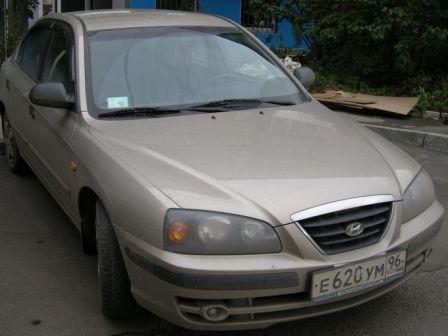 Hyundai Elantra 2004 - отзыв владельца