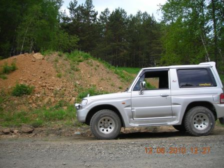 Hyundai Galloper 2001 - отзыв владельца