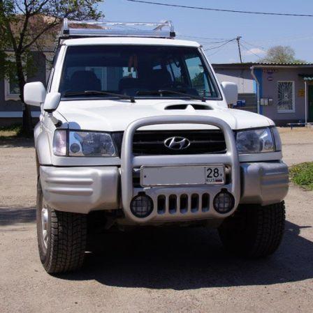 Hyundai Galloper 2002 - отзыв владельца