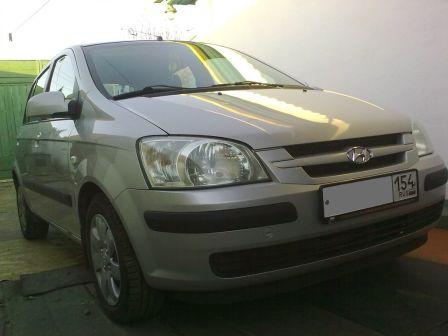 Hyundai Getz 2003 - отзыв владельца