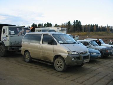 Hyundai H1 2002 отзыв автора | Дата публикации 19.12.2009.