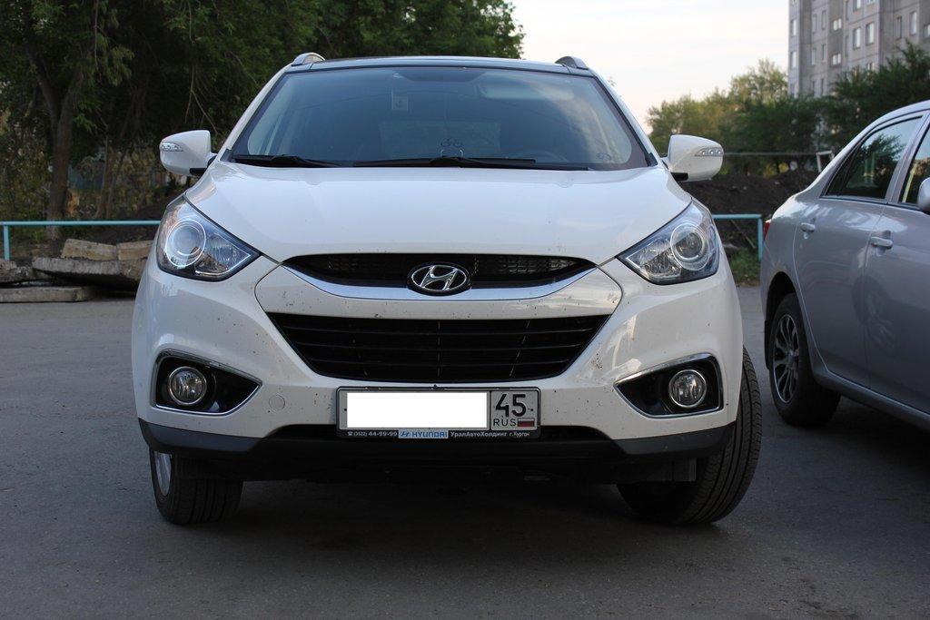 hyundai ix35 система автоматической парковки