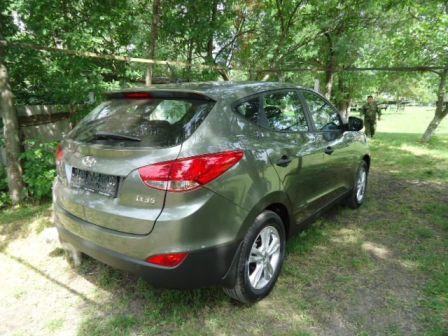 Hyundai ix35  - отзыв владельца