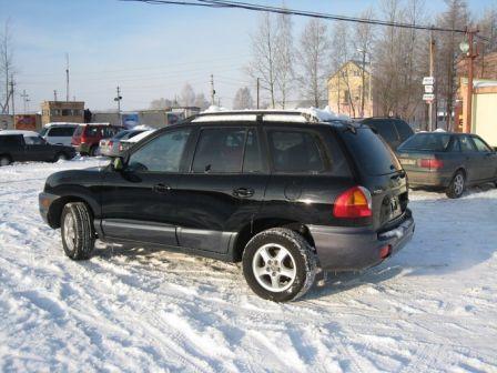 Hyundai Santa Fe 2001 - отзыв владельца