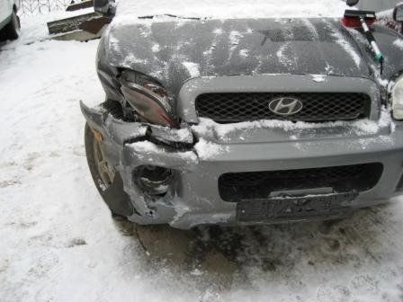 Hyundai Santa Fe 2003 - отзыв владельца